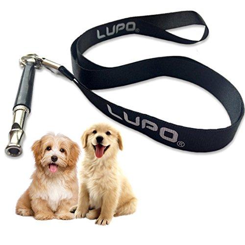 LUPO Hundepfeife Gegen Bellen mit Taljereep - Ultraschall Ausbildung für Hunde & Welpen mit Einstellbarer Frequenz
