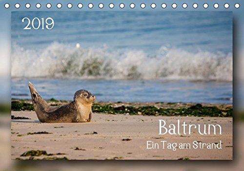 Baltrum - Ein Tag am Strand (Tischkalender 2019 DIN A5 quer): Baltrum - Ein Tag am Strand (Monatskalender, 14 Seiten ) (CALVENDO Natur)