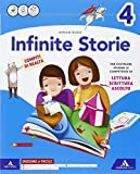 Infinite storie. Letture. Grammatica-Quaderno operativo scrittura, arte e musica. Per la Scuola elementare. Con e-book. Con espansione online: 1