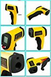DivineXt Plastic GM300 IR Infrared Digital Thermometer (Yellow)