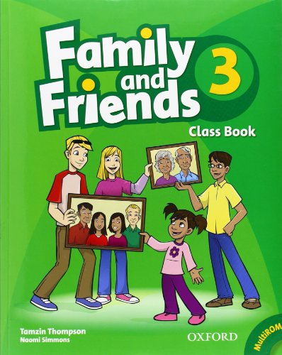 Family and Friends: 3: Class Book and MultiROM Pack por Tamzin Thompson, Naomi Simmons