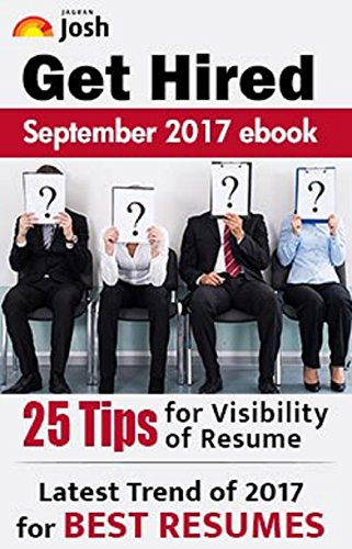 Get Hired September 2017 e-Book: Resume Writing Tips