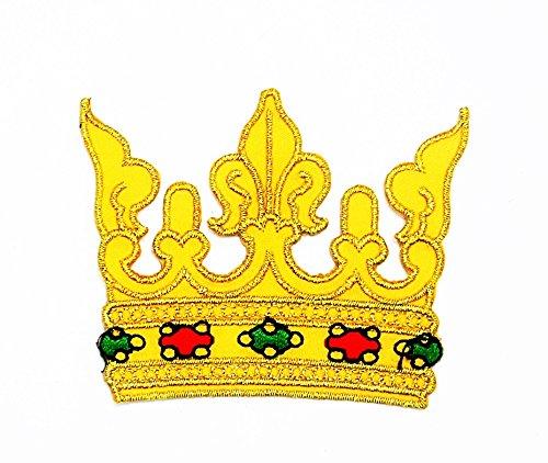 oyalty Royal Retro bestickte Applikation Cartoon Kids Kinder Cute Animal Patch für Heimwerker-Applikation Eisen auf Patch T Shirt Patch Sew Iron on gesticktes Badge Schild Kostüm (Crown Royal Kostüme)