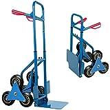 Deuba® Treppenkarre ✔bis 200kg ✔Befestigungslöcher - Sackkarre Transportkarre Treppensteiger...