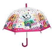 Ombrello 48 cm trasparente Automatico parapioggia bambina