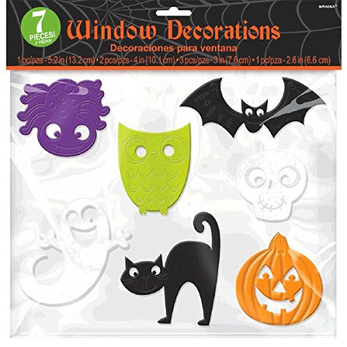 amscan International 220087 Halloween Fenster Gel selbst