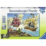 Ravensburger 10666 - Piratenschlacht - 100 Teile XXL Puzzle