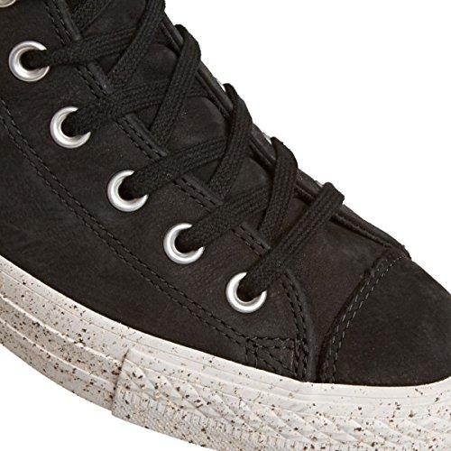 Converse All Star Hi Leather Scarpa Nero