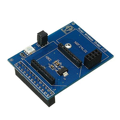 Generic Wireless Shield Board for Raspberry Pi Support Zigbee-Xbee NRF24L01 NRF24L01+RFM12B-D DIY Part