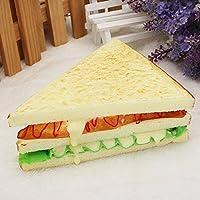 Big Bazaar Bazaar Artificial Bread Fake Sandwich Simulation Mould House kitchen Decor Learning Props