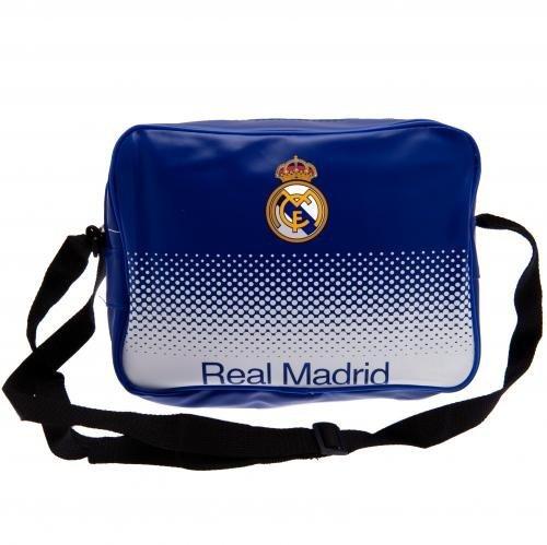 Real Madrid FC, Kuriertasche/Lunchtasche, verblassende Farbe. (Real Madrid Messenger Tasche)