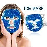 Gel Raffreddamento fredda Maschera per ghiaccio Impacco riutilizzabile per viso Ridurre gli occhi Cerchi scuri profondi Impacchi di ghiaccio per il rilievo della pressione del sonno Cura della pelle