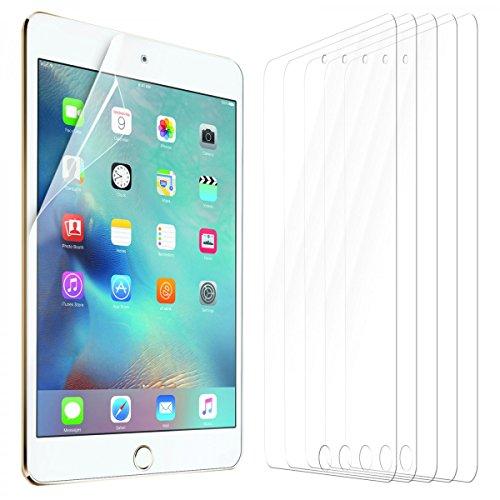 eFabrik 5 x Display Schutzfolie für Apple iPad Mini 4 Tablet-Folie (7.8 Zoll) Zubehör mit Schutz vor Kratzer und Dreck Displayschutzfolie Klar transparent