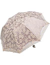 niceEshop(TM) Paraguas Parasol Plegable de Sol Protección UV (Albaricoque)