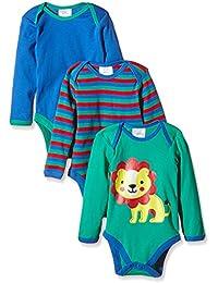 Twins Body J, Langarm - 3er-Pack - Body Shaping Niños