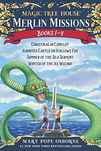 Magic Tree House Merlin Missions 1-4 (Magic Tree House (R) Merlin Mission) (English Edition)