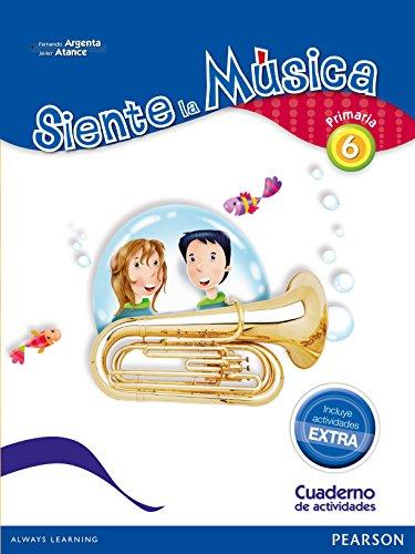 Siente La Música 6. Pack Actividades - Edición LOMCE - 9788420564449 por Fernando Martín de Argenta Pallarés