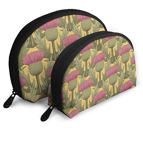 Bolso de Cosméticos Honey And Thistle Toiletry Make Up Bag Bathroom Organizer Travel Case 2 Piece Set