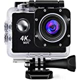 Mabron Drumstone [* 2IN1 Camera - Normal+Sports Use] Wi-Fi Waterproof Sports 4K Camera - Ultra HD 1080P, 16MP, 2 Inch…