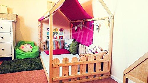 Sweet Home of Wood Montessori - Cama Infantil Lamas