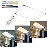 Hengda 96W LED Dimmbar Deckenlampe 2700-6500K Leuchte Deckenleuchte IP44 Badezimmer geeignet Lampe