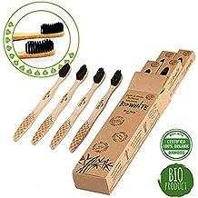 4 Cepillos Bio White dentales blanquadores de Bambu puro 96f80a68aff1