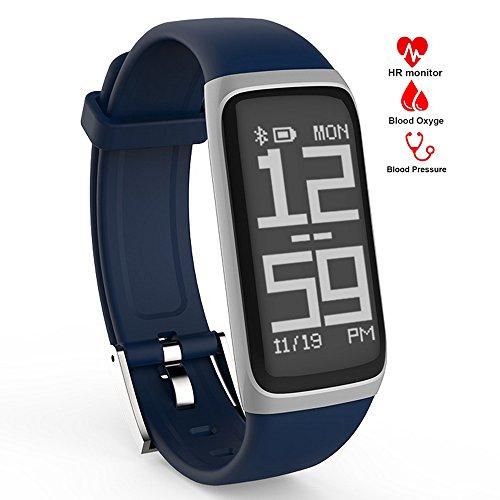 MOREFINE Bluetooth Pulsera inteligente Smartwatch Reloj Deportivo Fitness Tracker de actividad Impermeable 0.96