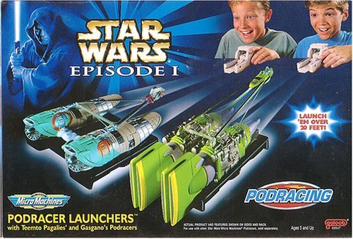 TOMY Star Wars pod racer launcher (Japan import / The package and the manual are written in Japanese) by Tomy