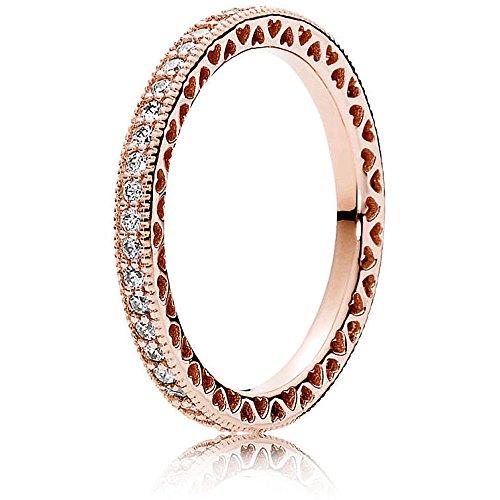 Pandora Ring - Unendliche Herzen - 180963CZ-60