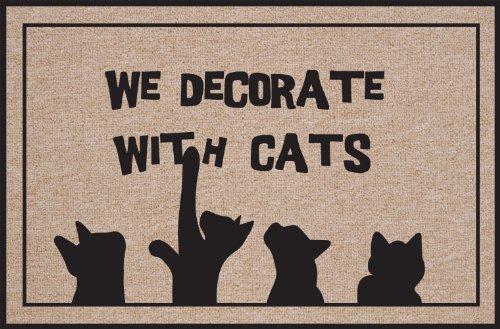 hohe-baumwolle-wir-dekorieren-mit-katzen-fussmatte
