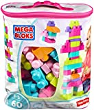 Mega Bloks DCH54 Buildable Bag, 60 Pieces