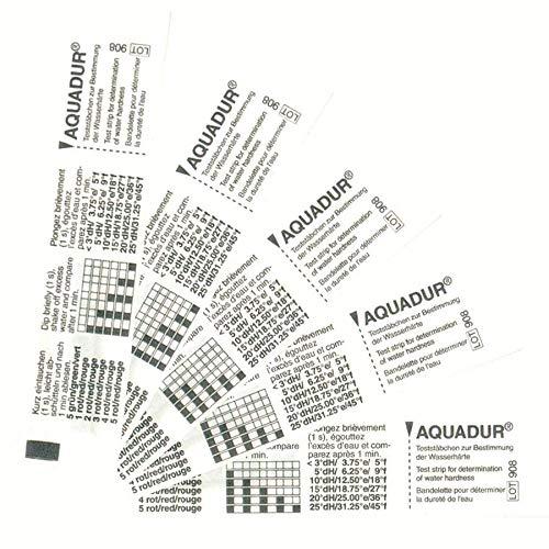 5 Wasserhärte Teststreifen einzeln versiegelt verpackt