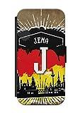 aina Samsung Galaxy S6 Flipcase Tasche mit Magnetverschluss aufklappbar mit Standfunktion Stadt City Kennzeichen Jena