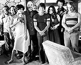Moviestore John C. Reilly als Reed Rothchild unt Mark Wahlberg als Eddie Adams/Dirk Diggler in Boogie Nights 25x20cm Schwarzweiß-Foto