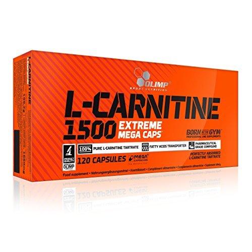 #Olimp L-Carnitine 1500 Extreme Mega Caps 120 Kapseln, 1er Pack (1 x 199,2 g)#