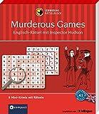 Murderous Games - Englisch-Rätsel (Niveau A1): Lernkrimi-Rätselblock mit rund 80 Rätseln in 8 Mini-Krimis (Compact Lernkrimi Rätselblock)