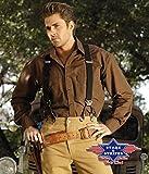 Stars & Stripes Westernhemd Ron, Farbe: braun, Gr. XXL