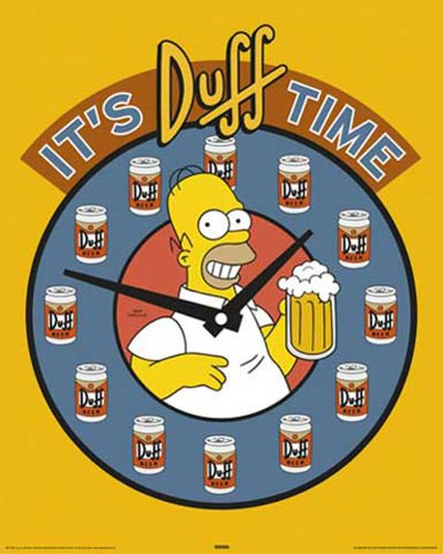 Empire 030 719 Simpsons, The - Movie - Homer, Duff Beer mini poster - 40 x 50 cm