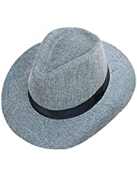 6532c8c58a3c8 Aire Libre Sombrero De con Borde Sombrero Hombre De Modernas Casual Verano  Retro Británico Dayan Mao