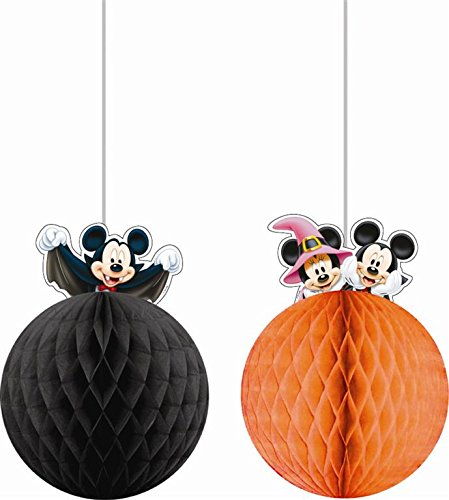 Procos S.A. Hanging Honeycomb Mickey Mouse Halloween Decorations (Mickey Halloween-dekoration)