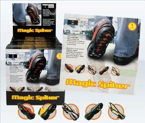 Magic Spiker Ice Greifer–Hervorragende Traktion auf Eis & Schnee. Rutschfeste. UK Größen 3–7,5