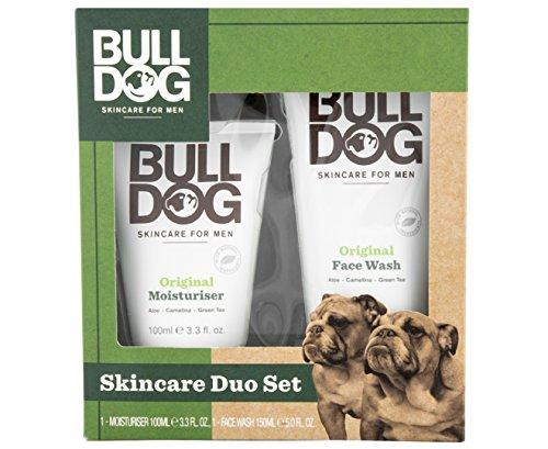 Bulldog Skincare Duo Set - Moisturiser 100ml, Face Wash 150ml