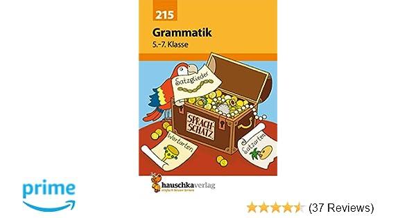 Dorable Grammatik Einer Tabelle 7Klasse Vignette - Mathe ...