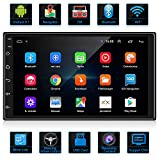 ANKEWAY Android 9.1 Car Radio GPS Navigation Autoradio Bluetooth/WiFi Car Stereo 2 DIN 7 Pollici 1080P HD Touch Screen 1G/16G Car Multimedia Radio + WiFi/BT Tethering Internet + Rear View Fotocamera