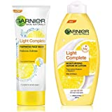 Garnier Skin Naturals Light Complete Facewash, 100g and Garnier Skin Naturals Light Lotion, 250ml