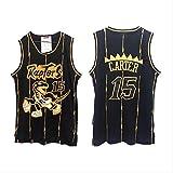 LLZYL NBA 1# 15# Raptors Retro-Trikot Maddy Carter All-Star-Trikot, Klassisches Ärmelloses, Atmungsaktives Material Für Herren Und Unisex-Basketball-Shorts, T-Shirt-Trikot,Carter,XL:185cm/85~95kg