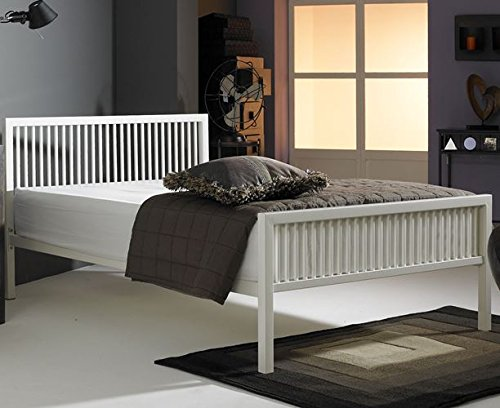 alaska-4ft-small-double-ivory-white-modern-metal-bed