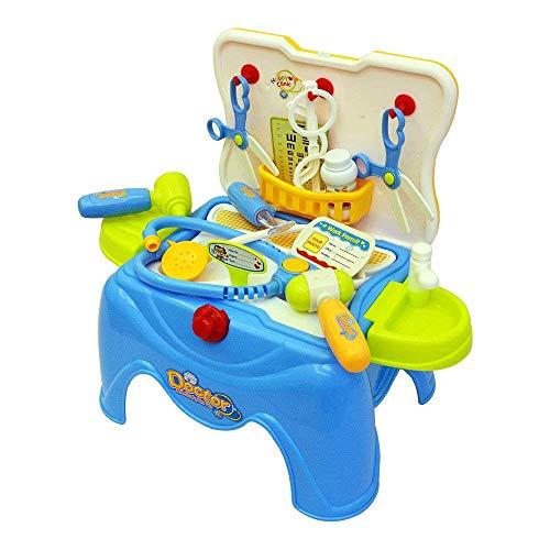 Kostüm Baby Preisgekröntes - Tugend-Ära- Hohe Presents Pretend Play Role Playing Doktor Set Zusammen Koffer bringen für Kinder Mädchen (Spielzeug für 3 Jahre Alten Jungen und Mädchen)