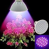 60 LED Grow Light E27 Ac85-265V Full Spectrum Indoor Plant Lamp