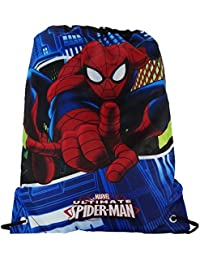 Marvel Spiderman Mochilla Saco Bolso Escolar